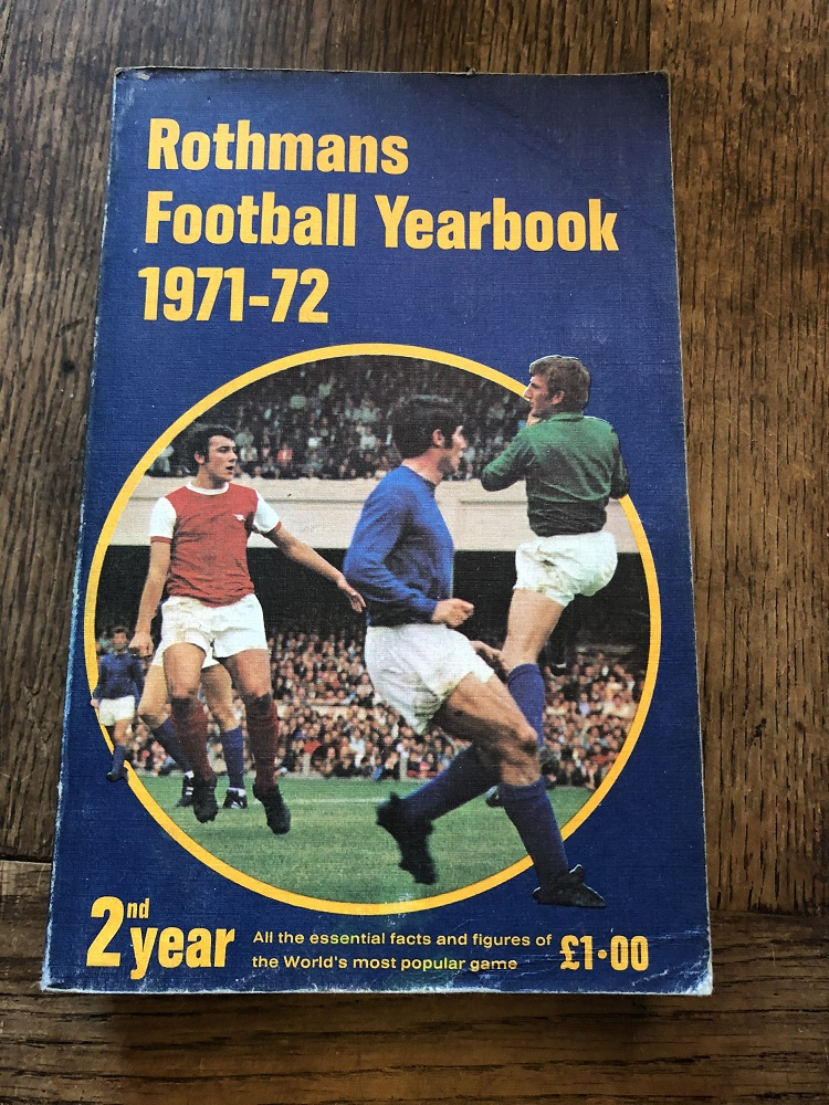 Rothmans Football Yearbook 1971/72