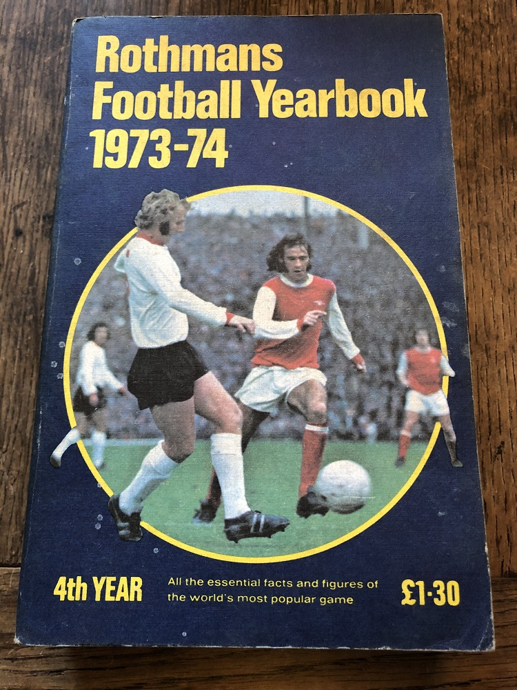 Rothmans Football Yearbook 1973/74