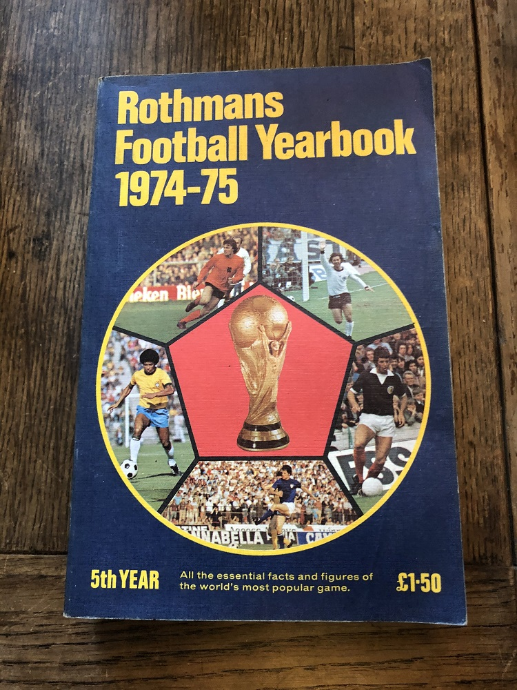 Rothmans Football Yearbook 1974/75