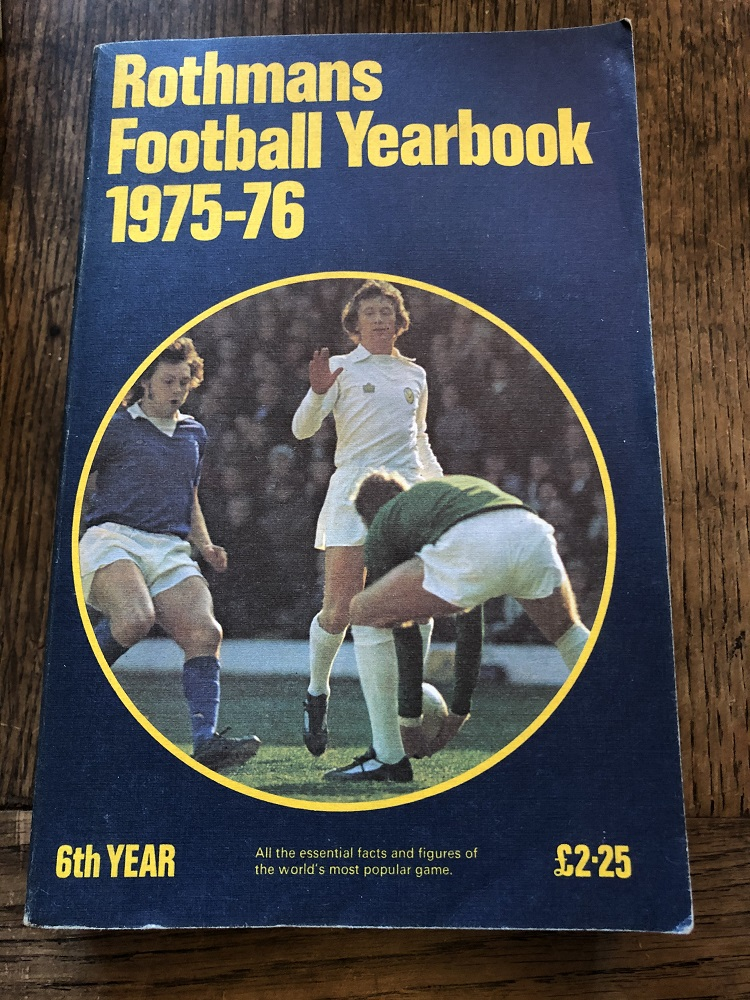 Rothmans Football Yearbook 1975/76
