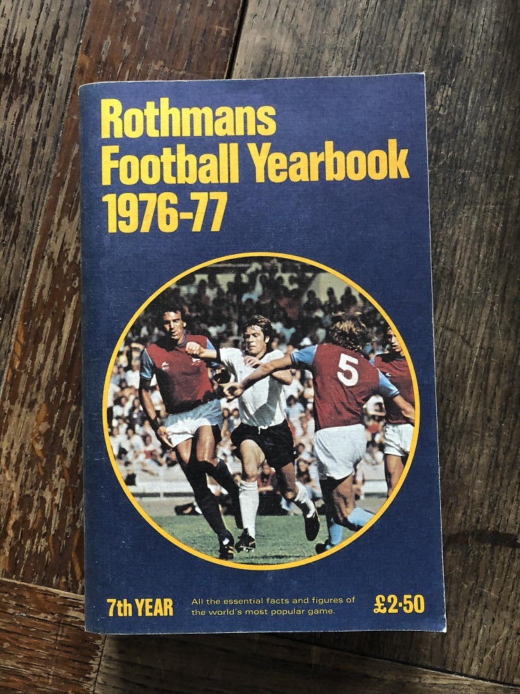 Rothmans Football Yearbook 1976/77