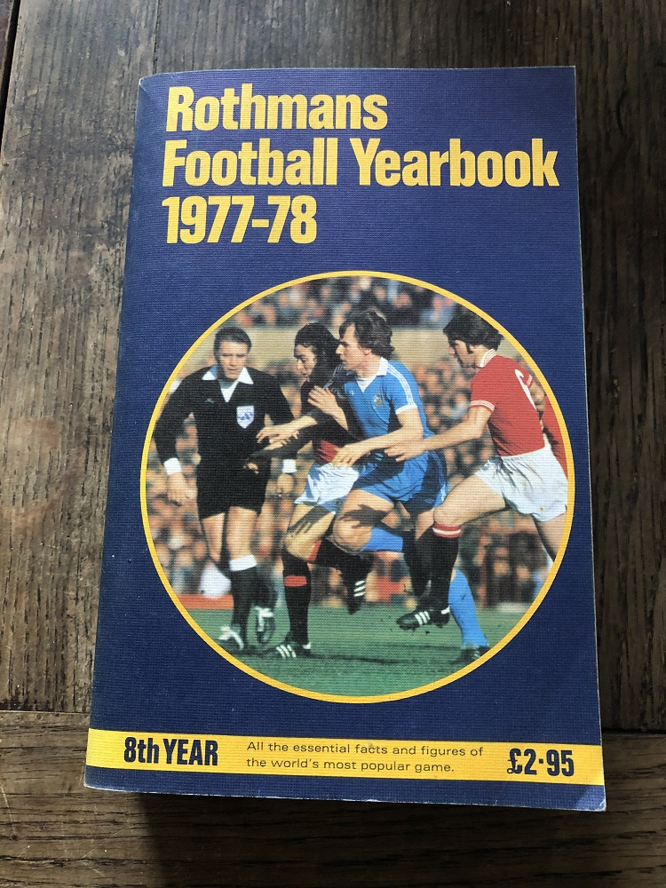 Rothmans Football Yearbook 1977/78