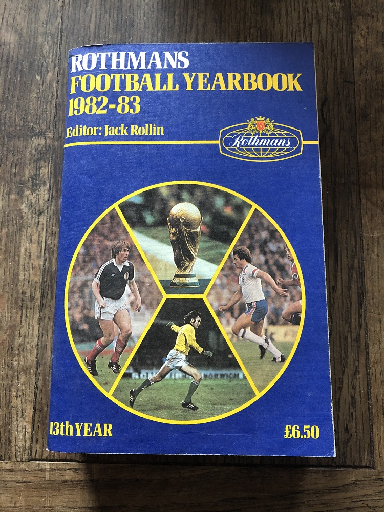 Rothmans Football Yearbook 1982/83