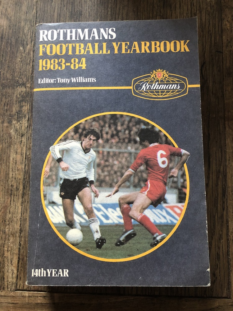 Rothmans Football Yearbook 1983/84