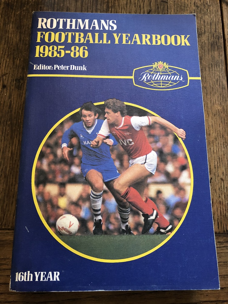 Rothmans Football Yearbook 1985/86