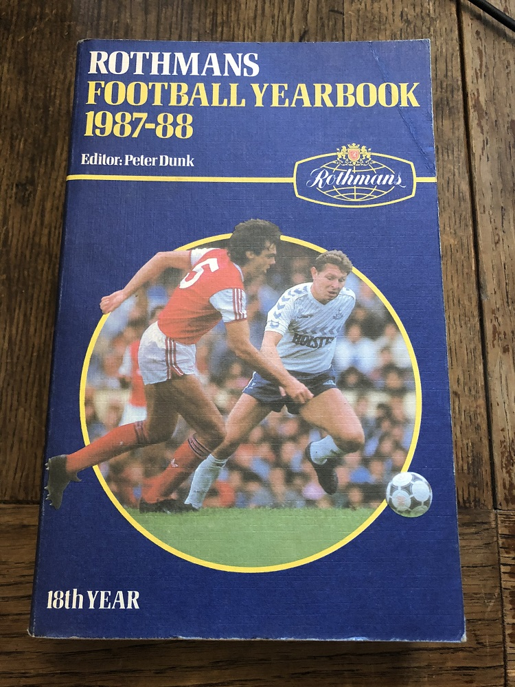 Rothmans Football Yearbook 1987/88