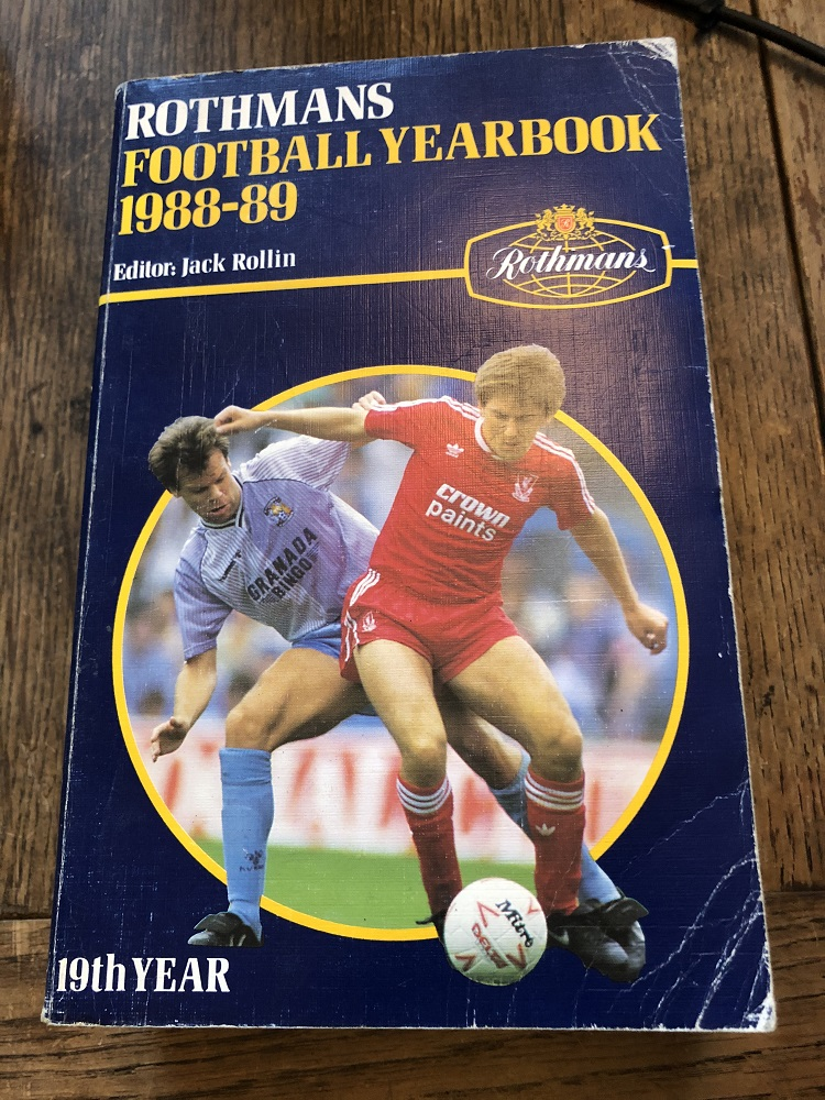 Rothmans Football Yearbook 1988/89
