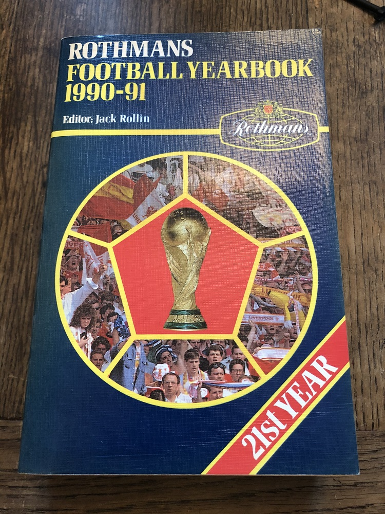 Rothmans Football Yearbook 1990/91