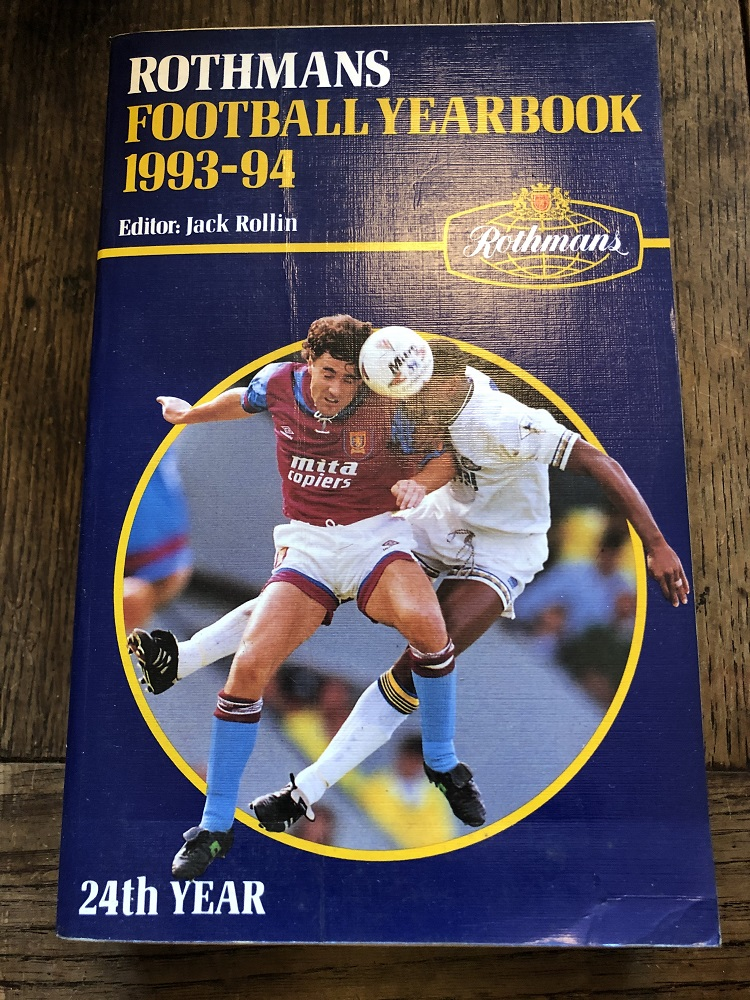 Rothmans Football Yearbook 1993/94