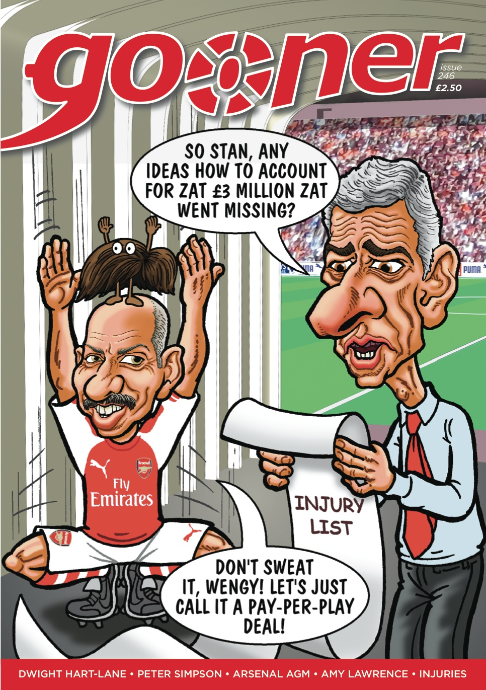 The Gooner - Issue 246