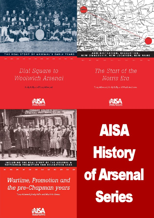 AISA History of Arsenal Pack