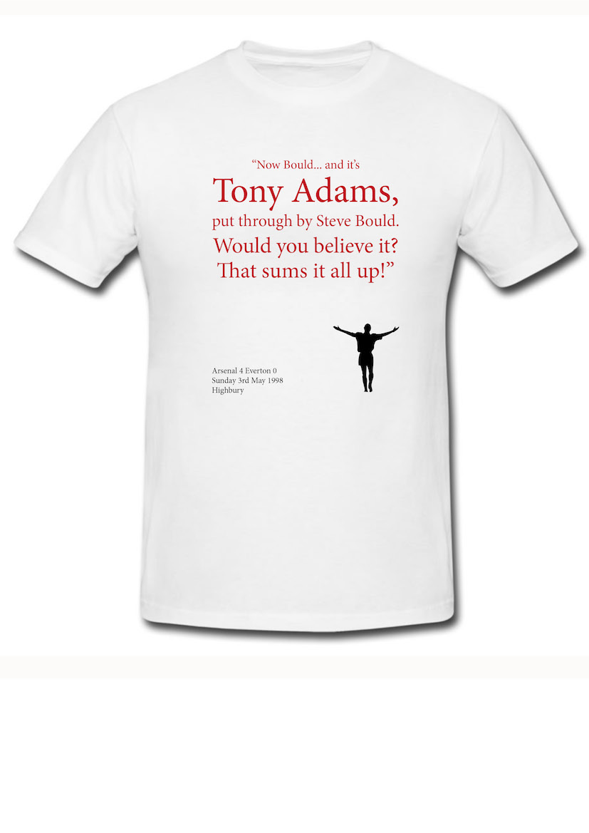 Tony Adams 98 Goal T-Shirt