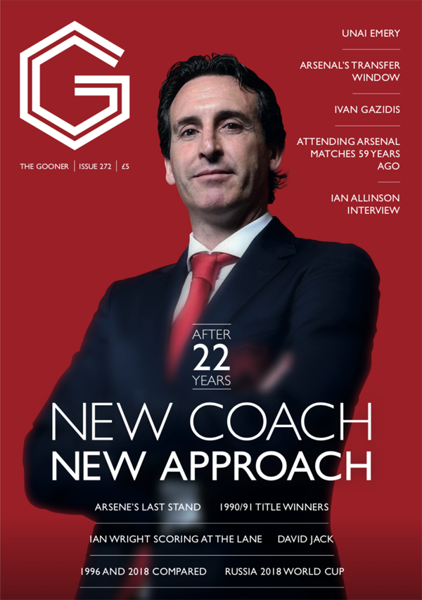 The Gooner Issue 272 IS SOLD OUT