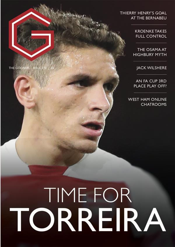 The Gooner Issue 273 (overseas)