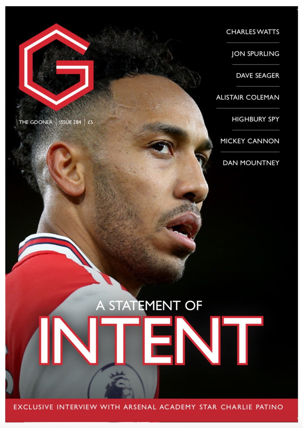 The Gooner Issue 284 (European addresses)