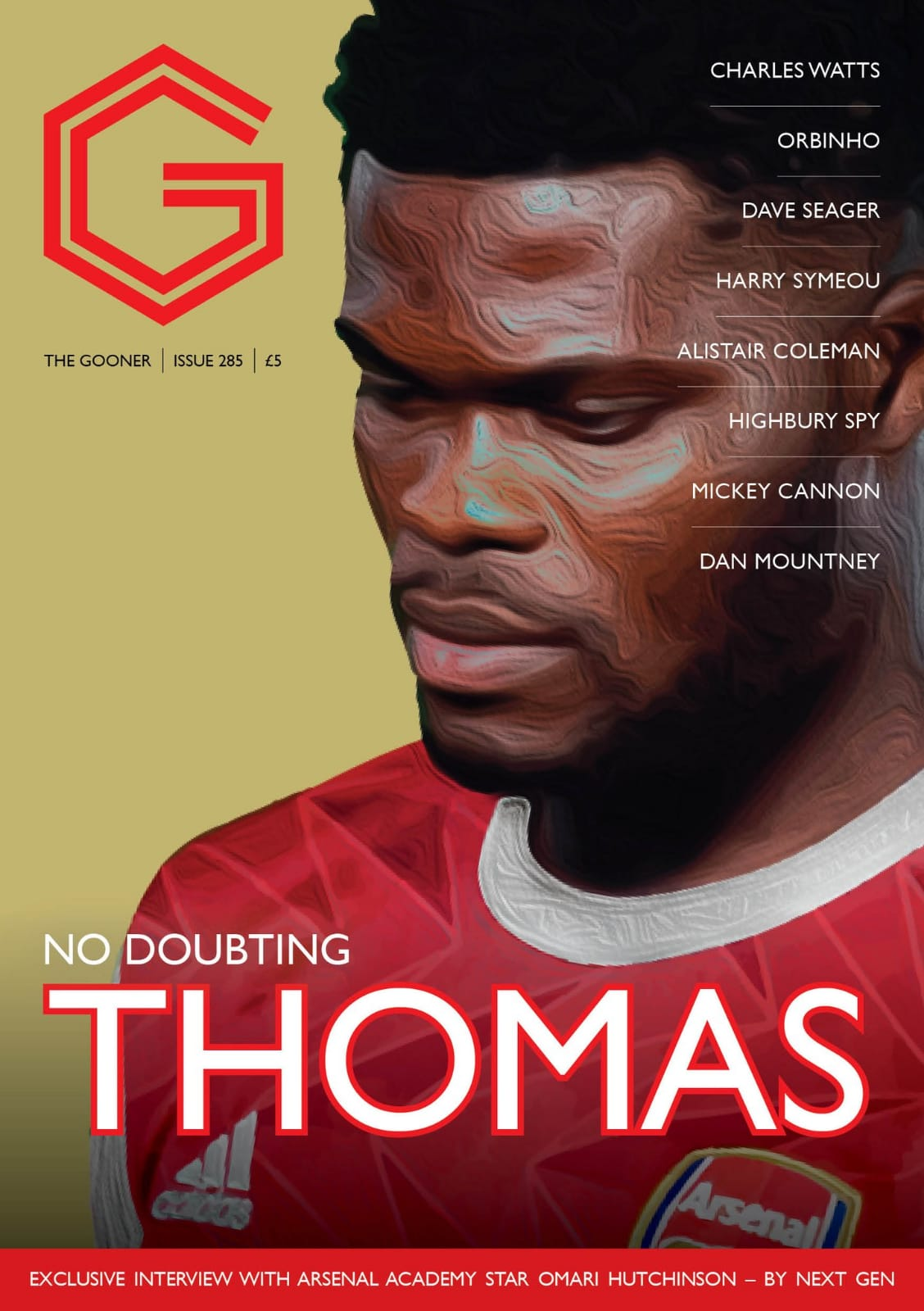 Current Issue - The Gooner 285 (Rest of World/Outside Europe)