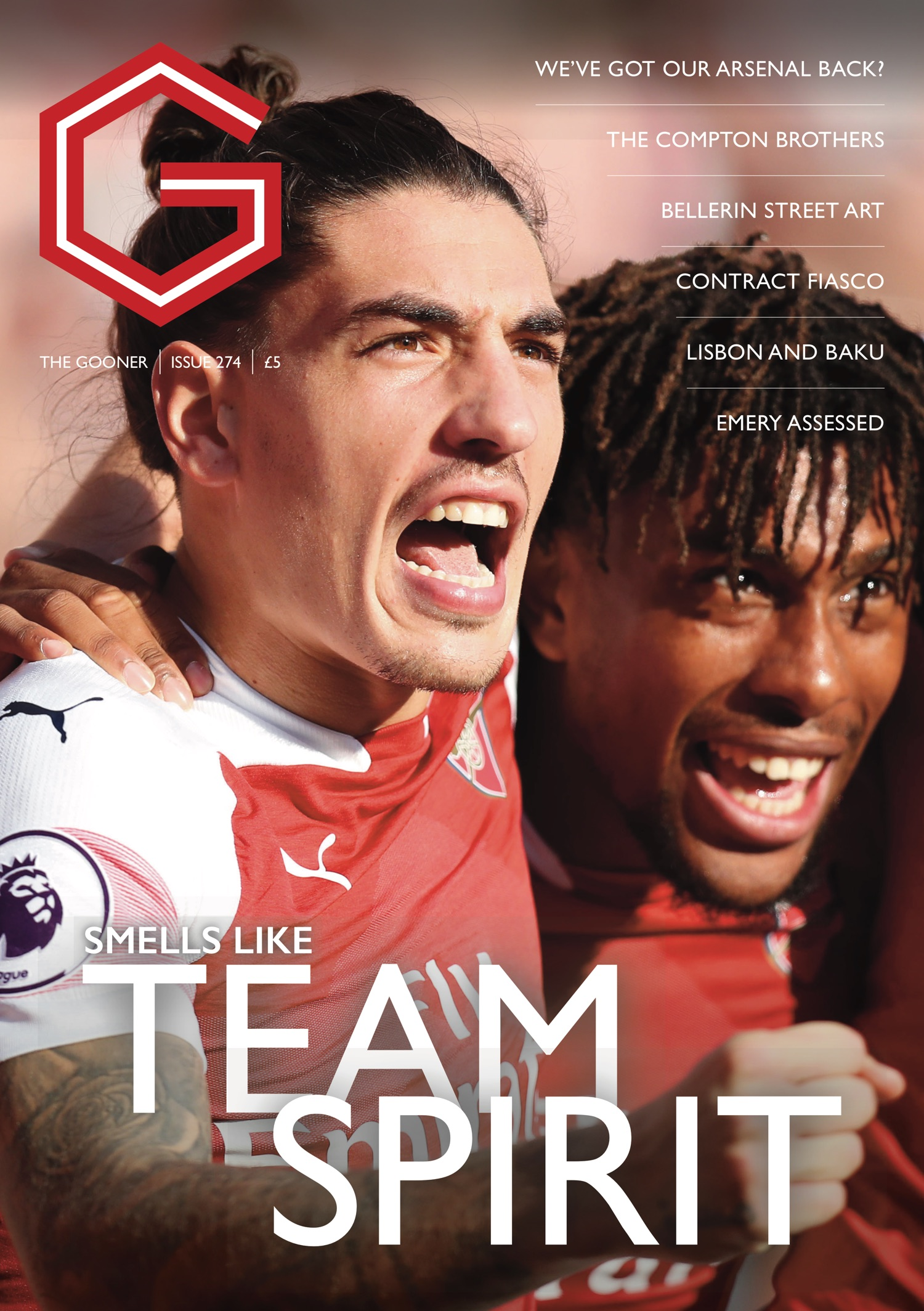 Current Edition Overseas – The Gooner Issue 274