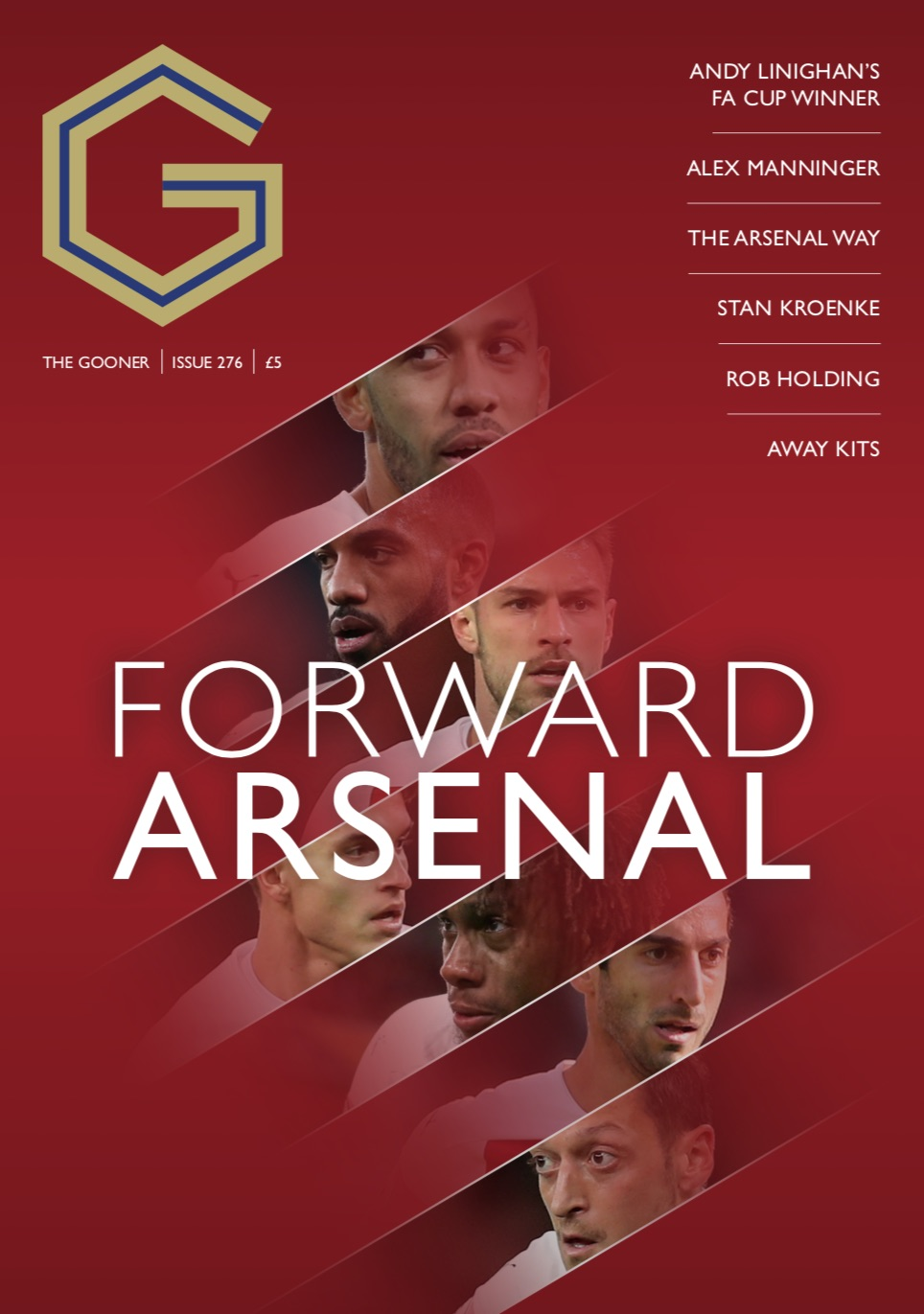 Current Edition – The Gooner Issue 276 (UK)