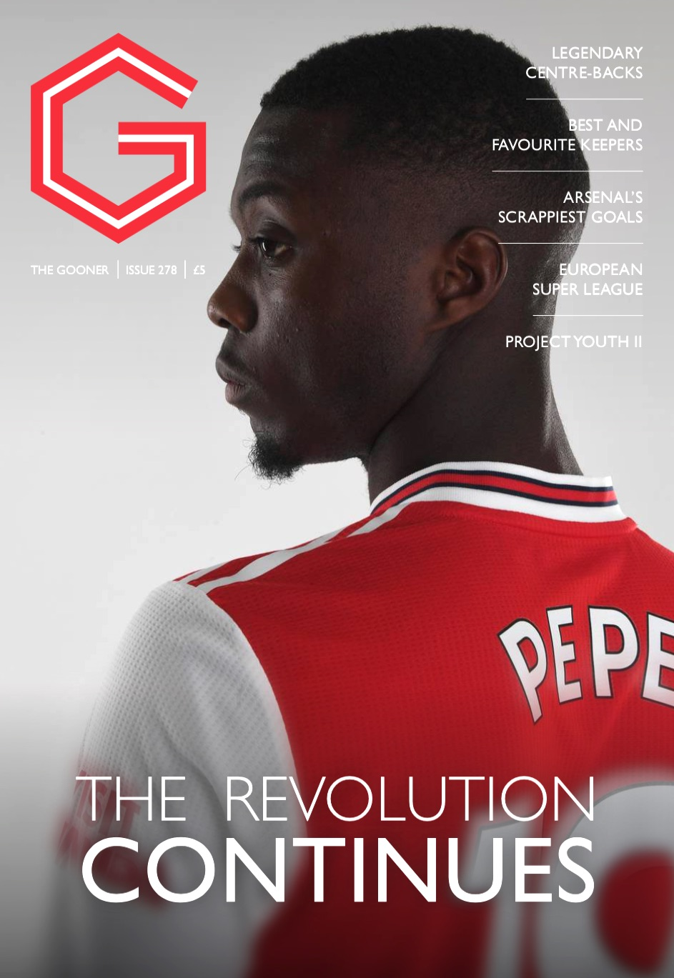 Current Edition – The Gooner Issue 278 (UK)