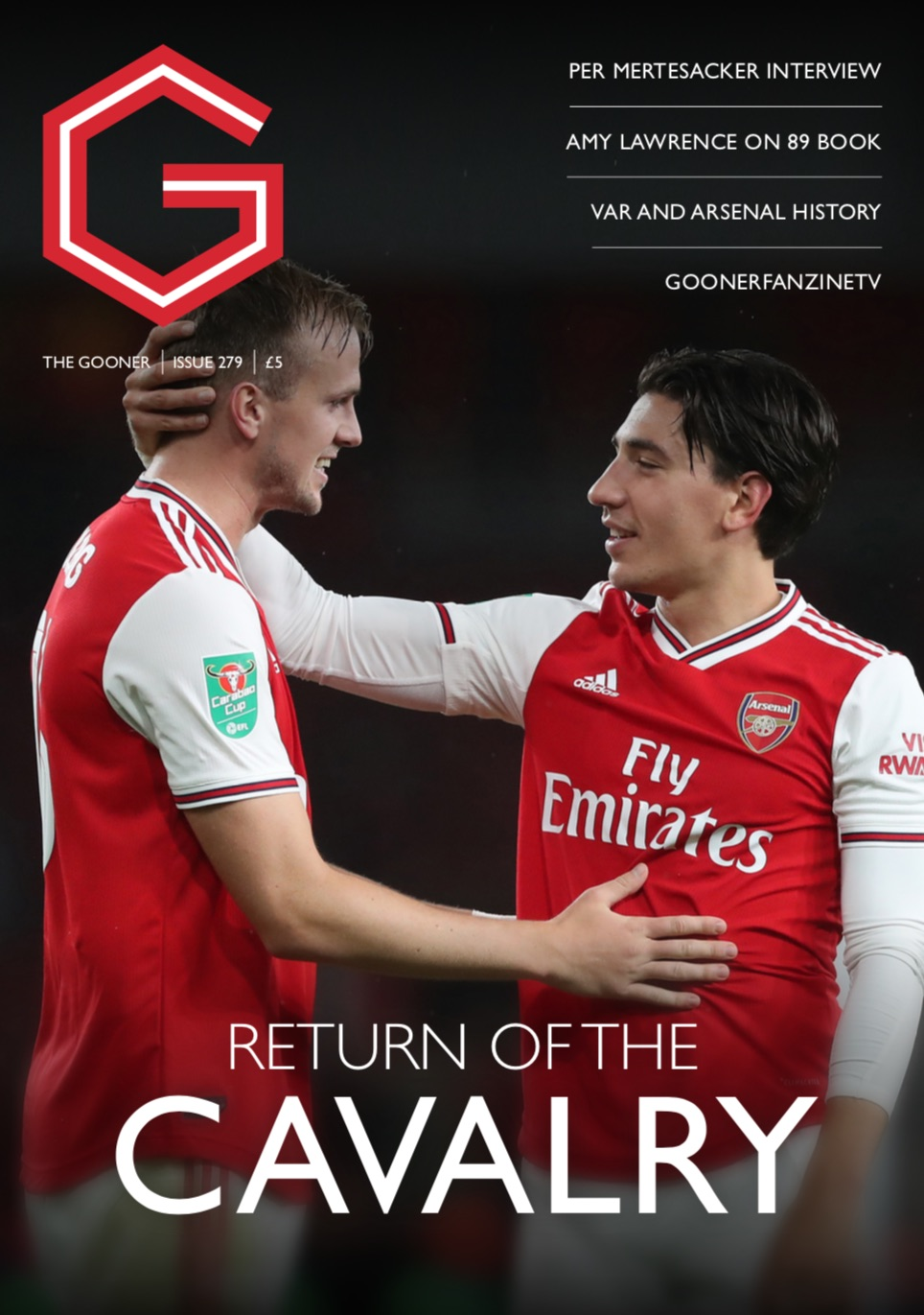 Current Edition – The Gooner Issue 279 (UK)