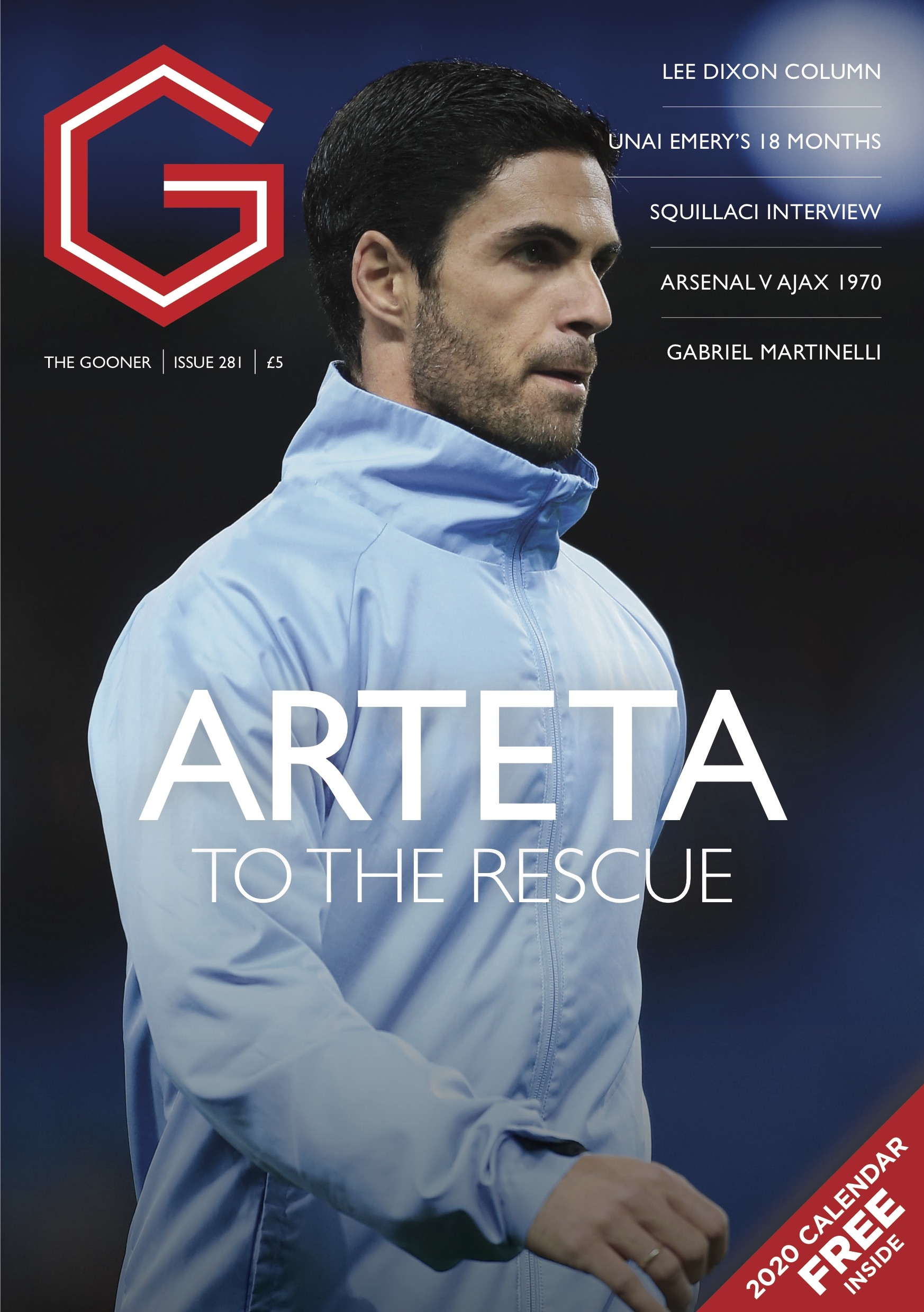 Current Edition – The Gooner Issue 281 (UK)
