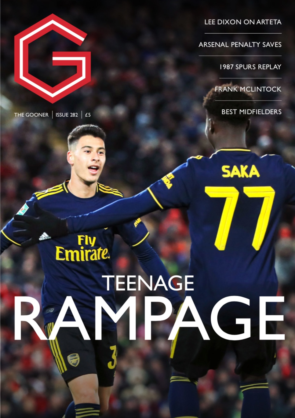 Current Edition (Overseas) – The Gooner Issue 282