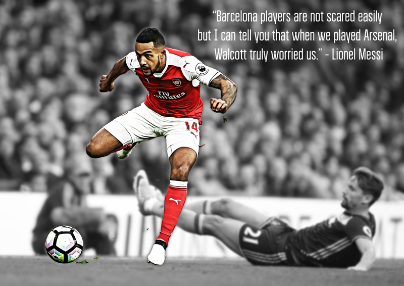 Theo Walcott A2 Poster